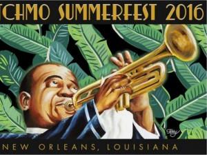 Satchmo SummerFest 2016. Artist: Terry Marks, Sr.