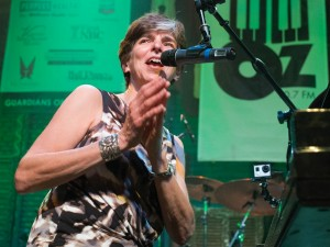 Marcia Ball at Piano Night 2015 [Photo by Marc PoKempner]