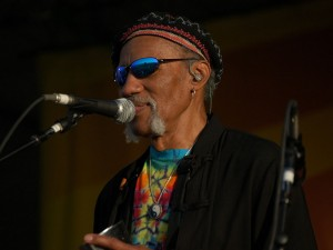Charles Neville at Jazz Fest 2008 [Photo by Black Mold]