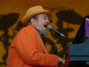 Dr. John at Jazz Fest 2005 [Photo by Leon Morris]