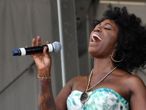 Erica Falls at Jazz Fest