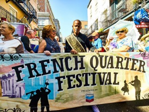 French Quarter Fest [Photo by Eli Mergel]