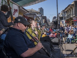 Shotgun Jazz Band at French Quarter Fest 2018 [Photo by Ryan Hodgson-Rigsbee]