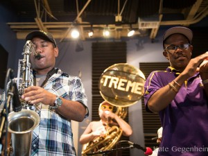 Treme Brass Band [Photo by Kate Gegenheimer]