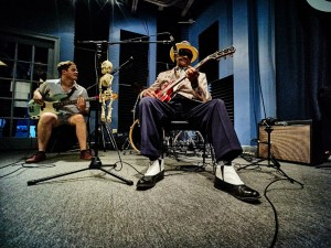Little Freddie King [Photo by Eli Mergel]
