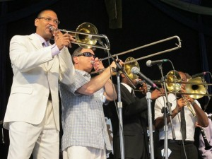 Delfeayo Marsalis & the Uptown Jazz Orchestra [Photo by Briana Prevost]