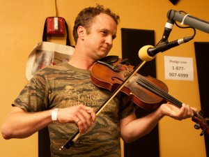 Louis Michot of Lost Bayou Ramblers [Photo by Ryan Hodgson-Rigsbee]
