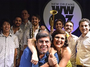 Jorge Fuentes with Mofongo Latin Band [Photo by Kichea S. Burt]