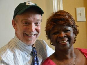 J Pegues and Irma Thomas [Photo by Kichea S. Burt]