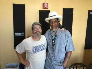 Rockin' Ron Phillps with Cyril Neville