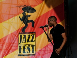 Trombone Shorty at Jazz Fest [Photo by Ryan Hodgson-Rigsbee]