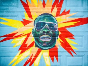 5th Ward Weebie Mural [Photo by Thomas Hawk]