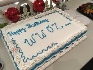 WWOZ Birthday Cake
