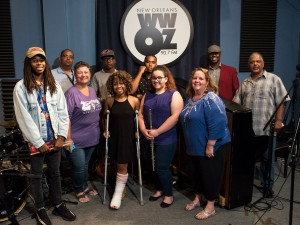 Louis Armstrong Summer Jazz Camp at WWOZ, August 2017 [Photo by Ryan Hodgson-Rigsbee]