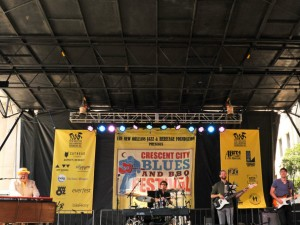 John Papa Gros at Blues & BBQ Fest 2018 [Photo by Michael E. McAndrew]
