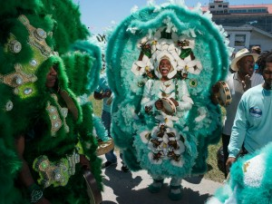 Big Chief David Montana [Photo by Ryan Hodgson-Rigsbee]
