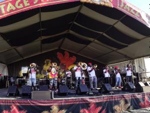 Da Truth Brass Band [Photo by Charlie Steiner]