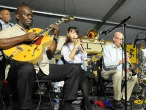 Gerald French & the Original Tuxedo Jazz Band [Photo by Black Mold]