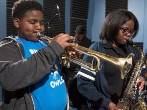 Einstein Charter Middle School Brass Band
