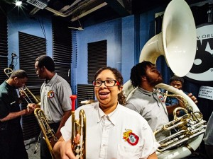 Martin Luther King Charter School Brass Band