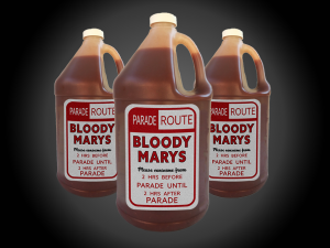 Gallon container bloody mary