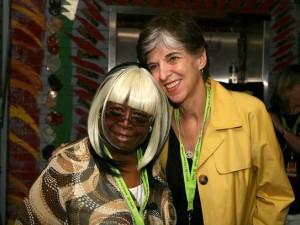 Carol Fran and Marcia Ball in 2011 [Photo by Jef Jaisun]