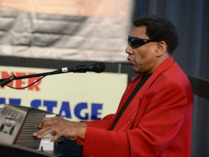 Henry Butler at Jazz Fest 2014 [Photo by Leon Morris]