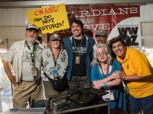 Staff at Jazz Fest 2017 [Photo by Ryan Hodgson-Rigsbee]