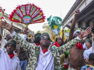 Treme Sidewalk Steppers [Photo by Jamell Tate]
