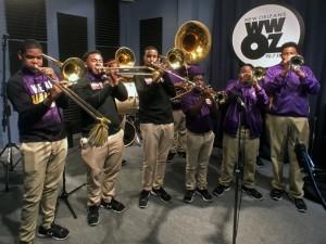 Edna Karr Brass Band [Photo by Charlie Steiner]
