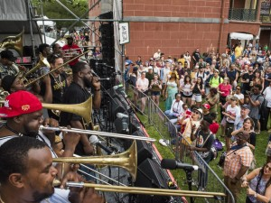 TBC Brass Band [Photo by Ryan Hodgson-Rigsbee]