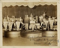 Louis Armstrong and Orchestra, Paddio, N.O., 1931 [Gelatin silver print courtesy