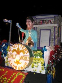 Krewe du Vieux float of David Vitter
