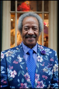 Allen Toussaint in the French Quarter, April 2015 [Photo by Ryan Hodgson-Rigsbee]