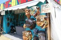 Papier mache works from Haitian artist Jacques Eugene in 2011 [Photo: Bill Sasser]