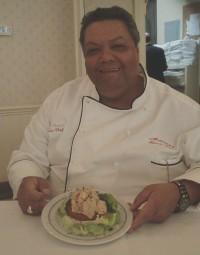 Executive Chef Michael Regua shows Shrimp Regua