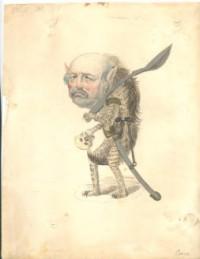 1873 Comus 'hyena' costume [Image: LaRC]
