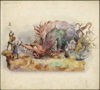 1904 Proteus dragon float [Image: LaRC]