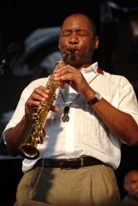 Branford Marsalis at Jazz Fest 2007 [Photo by Leon Morris]