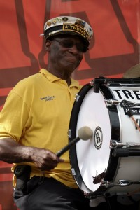 Benny Jones, Sr. at French Quarter Fest 2019 [Photo by Keith Hill]