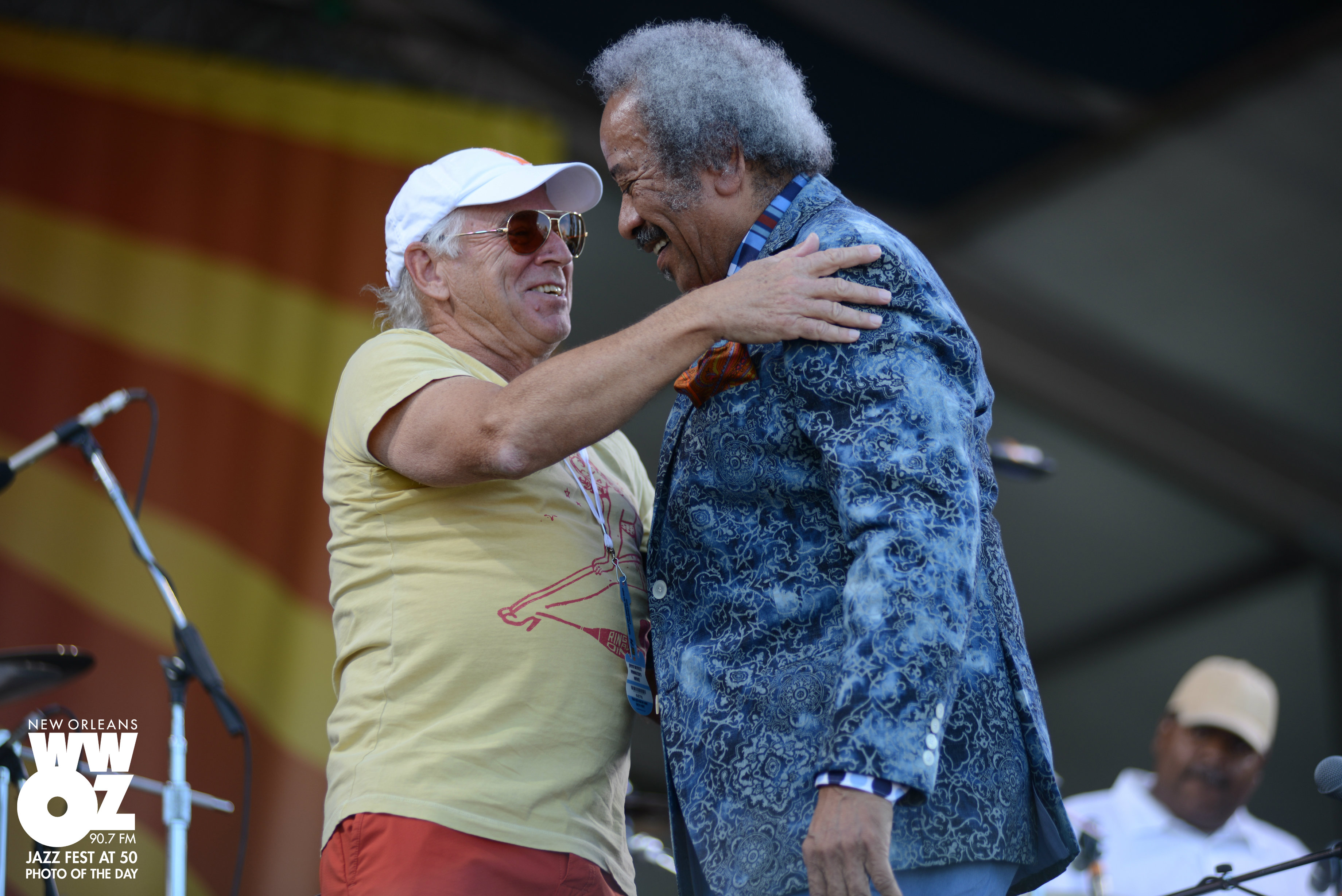 Jimmy Buffett and Allen Toussaint: Jazz Fest at 50 Photo of the Day